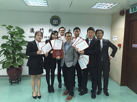 Students participated on The UCF Group Cup 7th Asia-Pacific M&A Moot Competition