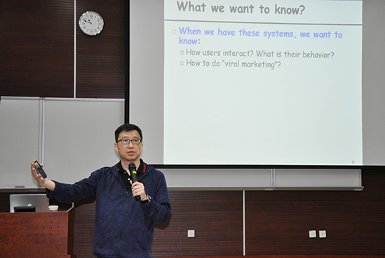 Prof C.S. Lui Invited To Give A Talk