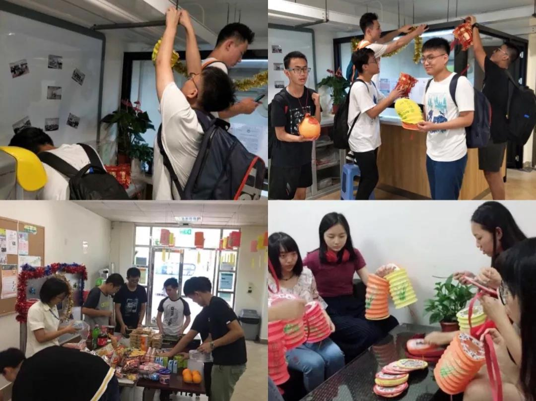 Mentorship Program meeting of the new Academic Year Mid-Autumn Festival and experience Dormitory culture