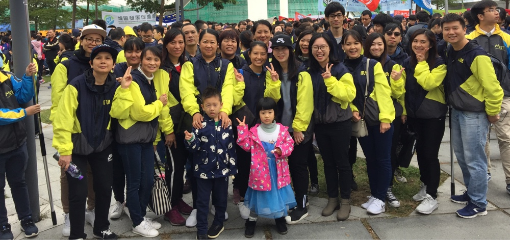 M.U.S.T. Team Walked for Millions Despite the Rain