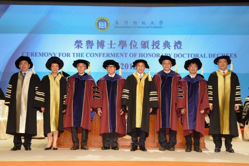 MUST Confers Honorary Doctoral Degrees upon Five Remarkable Individuals