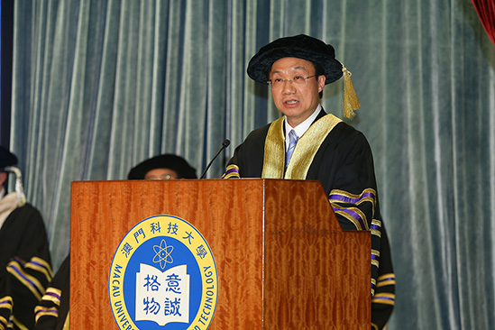 MUST Celebrates 17th Anniversary Confers Honorary Doctoral Degrees to Eight World-leading Outstanding Persons