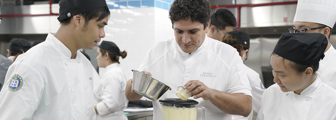 Celebrity Chef Mauro's Workshop inspires culinary students