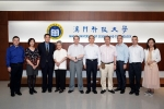 Thomas Ming Swi Chang, academician and father of the world's artificial cells, visited M.U.S.T.