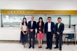 Mr. Kong Ngai, Head of the DSEJ's Department of Education visited SCS-MUST